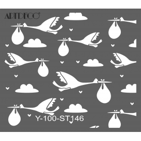 Artdeco Stencil 30x30cm -ST146