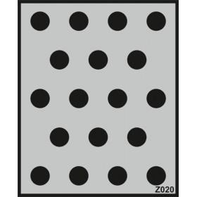 Z020 Duvar Stencil Şablon 58cm x 45cm