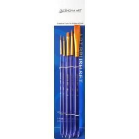 Cenova-Art 5'li Karma Fırça SET-5