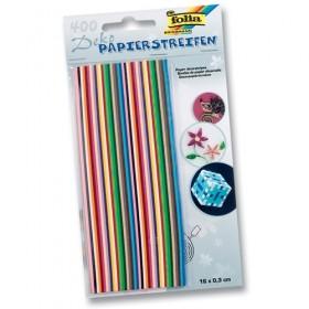 Folia Quilling Strips (Kağıt Kıvırma Şeritleri) 400 Adet