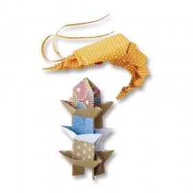 Folia Origami Kağıdı 15x15 cm. 10 Desen 50 Yaprak Japan