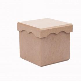 Saklama Kutusu Kapaklı Kısa 14x11cm
