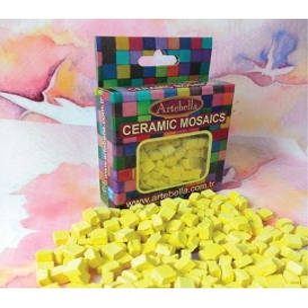 Artebella Seramik Mozaik 6702 Sarı 8x8mm