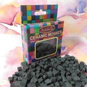 Artebella Seramik Mozaik 6712 Siyah 8x8mm