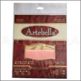 Artebella ALTIN Yaprak Varak 25'li (14x14cm)