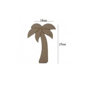 Palmiye Küçük 18x25cm Ahşap Obje