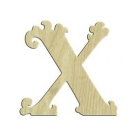 7cm Lazer Kesim Harf X