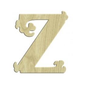 7cm Lazer Kesim Harf Z
