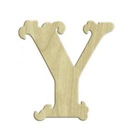 7cm Lazer Kesim Harf Y