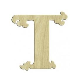 7cm Lazer Kesim Harf T