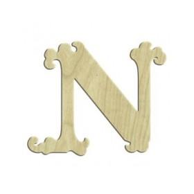 7cm Lazer Kesim Harf N