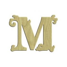 7cm Lazer Kesim Harf M