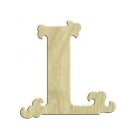 7cm Lazer Kesim Harf L