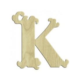 7cm Lazer Kesim Harf K