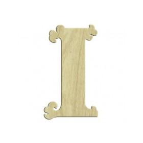 7cm Lazer Kesim Harf I
