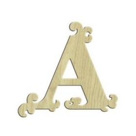 7cm Lazer Kesim Harf A