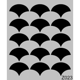 Z023 Duvar Stencil Şablon 60cmx50cm