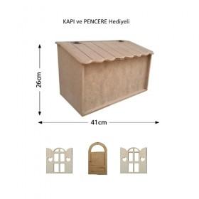 Ev Model Ekmek Kutusu