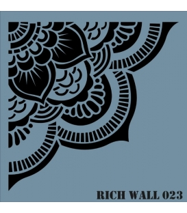 Rich Wall Decor Stencil 50x51cm - 023