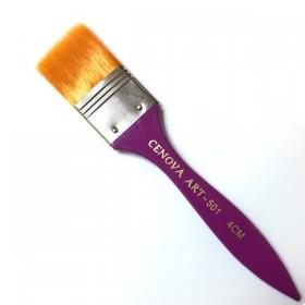 Cenova Art 501/4 Mor Saplı Zemin Fırçası 4cm