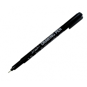 Snowman Calligraphy Pen Yan Kesik Kaligrafi Kalemi 1 mm Siyah