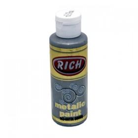 Rich 863 Metalik Antik Gümüş 130 ml Metalik Ahşap Boyası