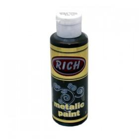 Rich 864 Metalik Antik Kahve 130 ml Metalik Ahşap Boyası