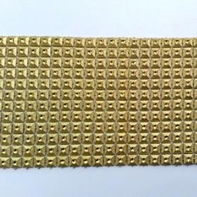 Altın Kare Çukut Piramit 12'li Şerit 1 mt.