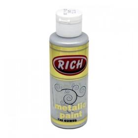 Rich 732 Metalik Gümüş 130 ml Metalik Ahşap Boyası