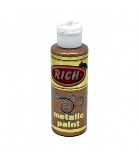 Rich 740 Metalik Bronz 130 ml Metalik Ahşap Boyası