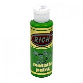 Rich 756 Fıstık Yeşili Metalik Akrilik Boya 130cc