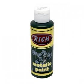 Rich 758 Metalik Yağ Yeşili 130 ml Metalik Ahşap Boyası