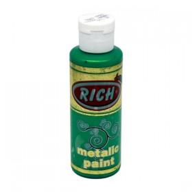 Rich 766 Metalik Yaprak Yeşili 130 ml Metalik Ahşap Boyası