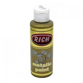 Rich 772 Metalik Koyu Altın 130 ml Metalik Ahşap Boyası