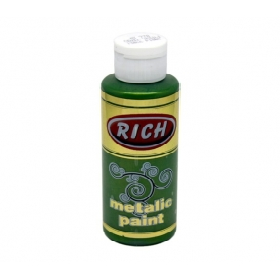 Rich 778 Metalik Ceviz Yeşili 130 ml Metalik Ahşap Boyası