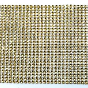 1 MT - Altın Stras Çukur 24'lü Şerit