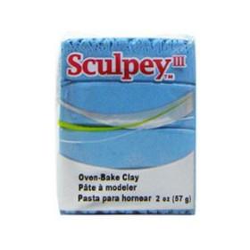 Sculpey III Polimer Kil 1103 Light Blue Pearl (Açık Mavi İnci)