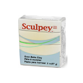 Sculpey III Polimer Kil 010 Translucent (Transparan)
