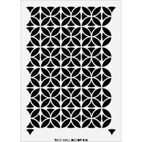 Rich Wall Decor Stencil 50x70cm - 030