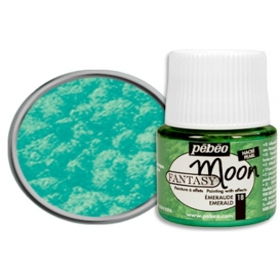 Pebeo Fantasy Moon Efekt Boya 18 Emerald