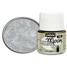Pebeo Fantasy Moon Efekt Boya 35 Silver