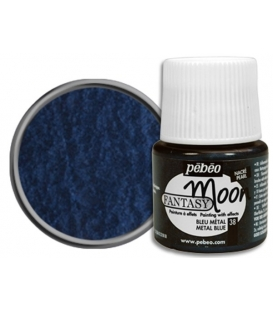 Pebeo Fantasy Moon Efekt Boya 38 Metal Blue