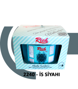 Rich Multi Surface Akrilik 2500cc (3,5kg) - 2240 İS SİYAH
