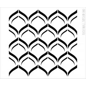 Rich Wall Decor Stencil 50X55cm- 050