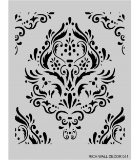 Rich Wall Decor Stencil 50x65cm - 041