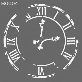 MyHobby Stencil Şablon 30x30cm B0004