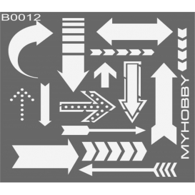MyHobby Stencil Şablon 30x30cm B0012