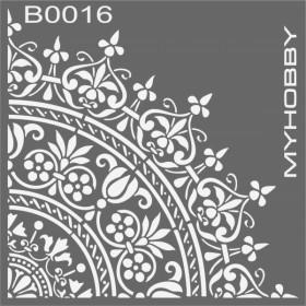 MyHobby Stencil Şablon 30x30cm B0016