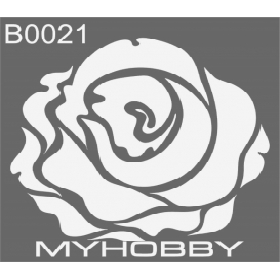 MyHobby Stencil Şablon 30x30cm B0021