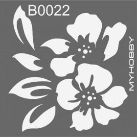 MyHobby Stencil Şablon 30x30cm B0022
